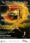 The William Blake Poetry Prize Poster 2015