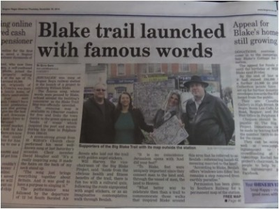 Blake Trail launched
