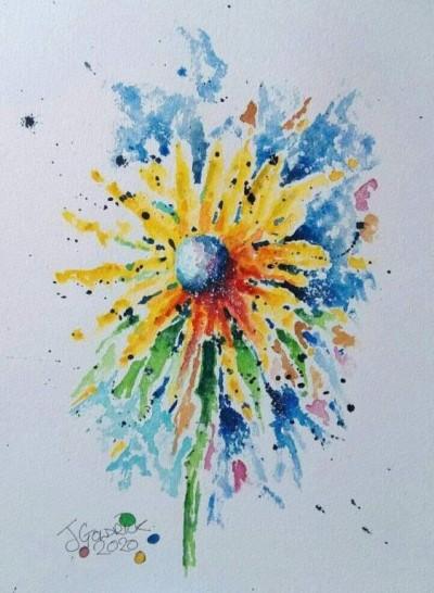 JasonGoldrickWatercolourFlower