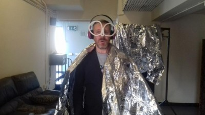 Mikey Georgeson, the Artist behind the immersive Actual Occasion art installation from BlakeFest 2018.