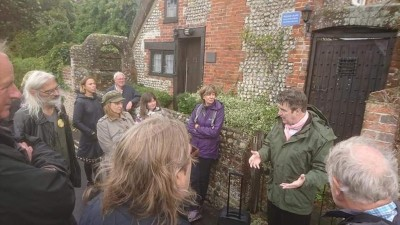 One of several Psychogeographical walks, encompassing Blake's Cottage, hosted by Niall McDevitt
