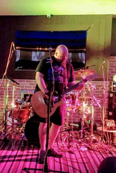Local originals band The Boy Wonders headlined our charity gig at TAO in Bognor Regis to raise funds for local community hub Grandads Front Room. Support came from punk-tribute band Crash Course and acoustic music from Sedge.