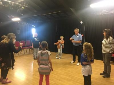 Blakefest 19 children's drama workshop