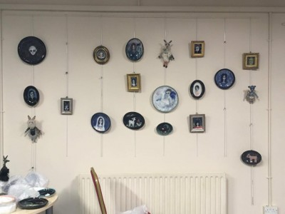 Ceramic Art by the fabulous Julie Goldsmith displayed at BlakeFest19 -