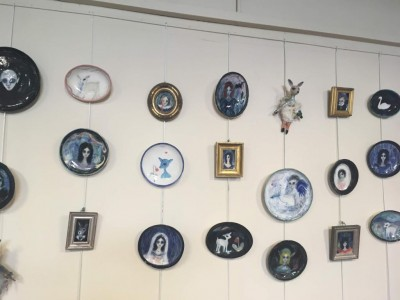 Ceramic Art by the fabulous Julie Goldsmith displayed at BlakeFest19