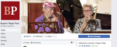 Michael Horowitz and Vanessa Vie from the William Blake Klezmatrix Band appear on the online version of the local paper for BlakeFest 2017.