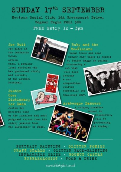 The programme from BlakeFest17.