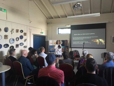 One of our informative talks on Blake at The Regis Centre