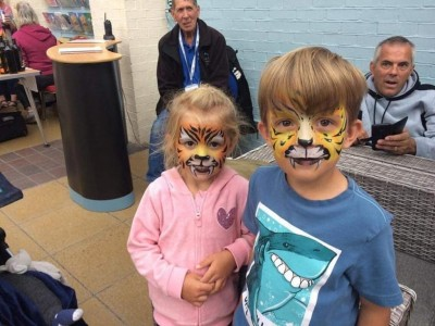 FREE children's Tyger trail which would lead them on a Blake Trail around the town followed by free facepainting. Supported by Bognor BID and featuring the wonderful Face painting by the very talented BodyArtist Elissa Barrett.